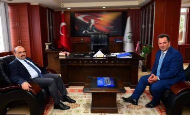 TRABZON VALİSİ SAYIN İSMAİL USTAOĞLU'NDAN BELEDİYEMİZE ZİYARET...